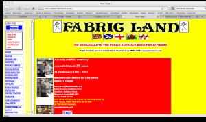 Terrible website